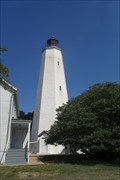 Image for NJ's oldest lighthouse still burns brightly at Sandy Hook  -  Sandy Hook, NJ