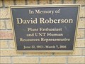 Image for David Roberson - Denton, TX
