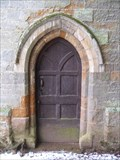 Image for North Face Doorway - All Saints Church, West Haddon, Northants, UK.