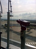 Image for Binocular on the visitor's terrace - Airport Basel/Mulhouse (Switzerland/France)
