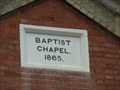 Image for 1865 - Baptist Chapel, Barlestone, Leicestershire