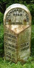 Image for Milestone - York Road, Bilton in Ainsty, Yorkshire, UK.