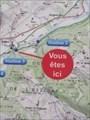 """Image for """"Vous êtes ici"""" - Station 3 du sentier Vél'eau, Aubert"""