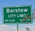 Image for Barstow, California - Elevation 2,170 ft.