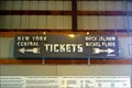 Image for Tickets New York Central - Rock Island Nickel Plate - Union IL