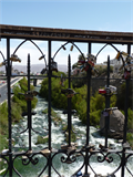 Image for Love padlocks at Puente Bolognesi - Arequipa, Peru