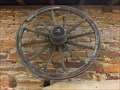 Image for Old Wheel at a brick stone house in Hilberath - NRW / Germany