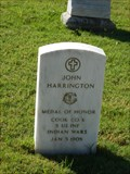 Image for John Harrington - San Antonio National Cemetery - San Antonio, Tx.