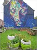 Image for The blue lady Roeselare - West Vlaanderen - Belgium.