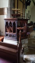 Image for Pulpit - Holy Cross church - Epperstone, Nottinghamshire, UK