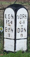 Image for Milestone - A638, Great North Road, Bawtry, Yorkshire, UK.