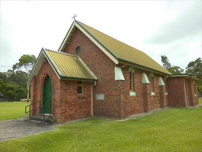 Current Church erected 1908