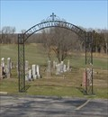 Image for Leslie Methodist Cemetery Arch - Leslie, MO