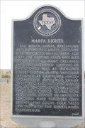 Image for The Marfa Lights -- US 67/90 E of Marfa TX