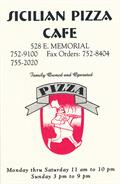 Image for Sicilian Pizza Cafe takeout menu - OKC, OK