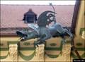 Image for Huge Dragon gargoyle in New Town Hall / Nová radnice (Brno-South Moravia)