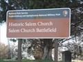 Image for Fredericksburg & Spotslvania National Military Park-Salem Church