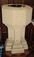Image for Baptismal Font - St Peter's Church - Queenstown, Otago, New Zealand
