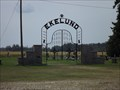 Image for Ekelund Cemetery Entrance Arch - Pennington County MN