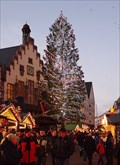 Image for Weihnachtsbaum auf dem Römerberg — Frankfurt am Main, Germany