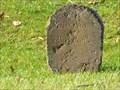 Image for Franklin Mile Marker - 70 Miles From Boston - 1767 Milestones - Warren, MA