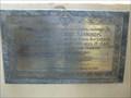 Image for H A Symonds Plaque - All Saints - Rackheath, Norfolk