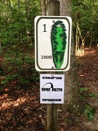Hole One Tee Sign, Spotsylvania, Virginia