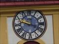 Image for Church clock Pfarrkirche hl. Georg - Neustift, Tirol, Austria