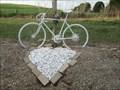 Image for Rt 5, Lima ghost bike and roadside shrine