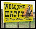 Image for Welcome to Happy - Happy, Texas