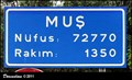 Image for Mus (Mus province, East Turkey) ~ population 72 770
