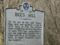 Image for Rice's Mill - 1B 16