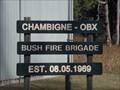 Image for Chambigne-Obx Bush Fire Brigade