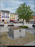 Image for Fountain in Peace Square / Fontánka na Mírovém namestí - Hlucín (North Moravia)