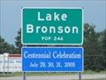 Image for Lake Bronson MN ~ Pop. 246