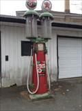 Image for Texaco pump, Granby, Québec.
