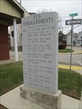 Image for Ten Commandments (Exodus 20) - South Connellsville Fireman's Club - South Connellsville, Pennsyvania