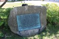Image for Site of the First Free Public School in America Tablet - Dedham, MA