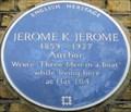 Image for Jerome K Jerome - Chelsea Bridge Road, London, UK