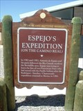 Image for ESPEJO'S EXPEDITION - Historical Marker