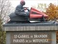Image for Le Skidoo de la ville-St-Gabriel de Brandon-Québec, Canada