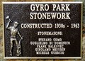 Image for Gyro Park Stonework - 1930s to 1963 - Trail, BC