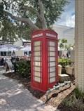 Image for Dunedin Telephone Box - Dunedin, FL.