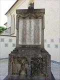 Image for WW I Memorial Obernau, Germany, BW