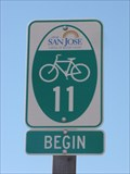 Image for Southern End of Cycling Route 11 - Morgan Hill, California