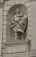 Image for King Charles II of England, Scotland & Ireland -- Temple Bar Gate, Paternoster Square, City of London, UK