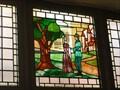 Image for The Castle Pub Stained Glass Window - Nottingham, Nottinghamshire, England, UK.