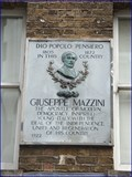 Image for Giuseppe Mazzini - Laystall Street, London, UK