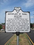 Image for Birthplace of Naval Aviation