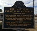 Image for The Lafayette Presbyterian Church - Lafayette, AL